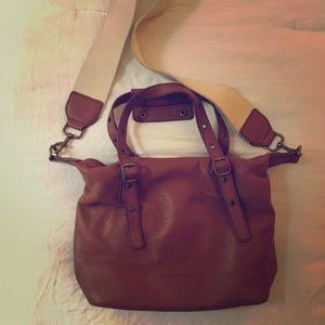 Lucky brand brown leather bag